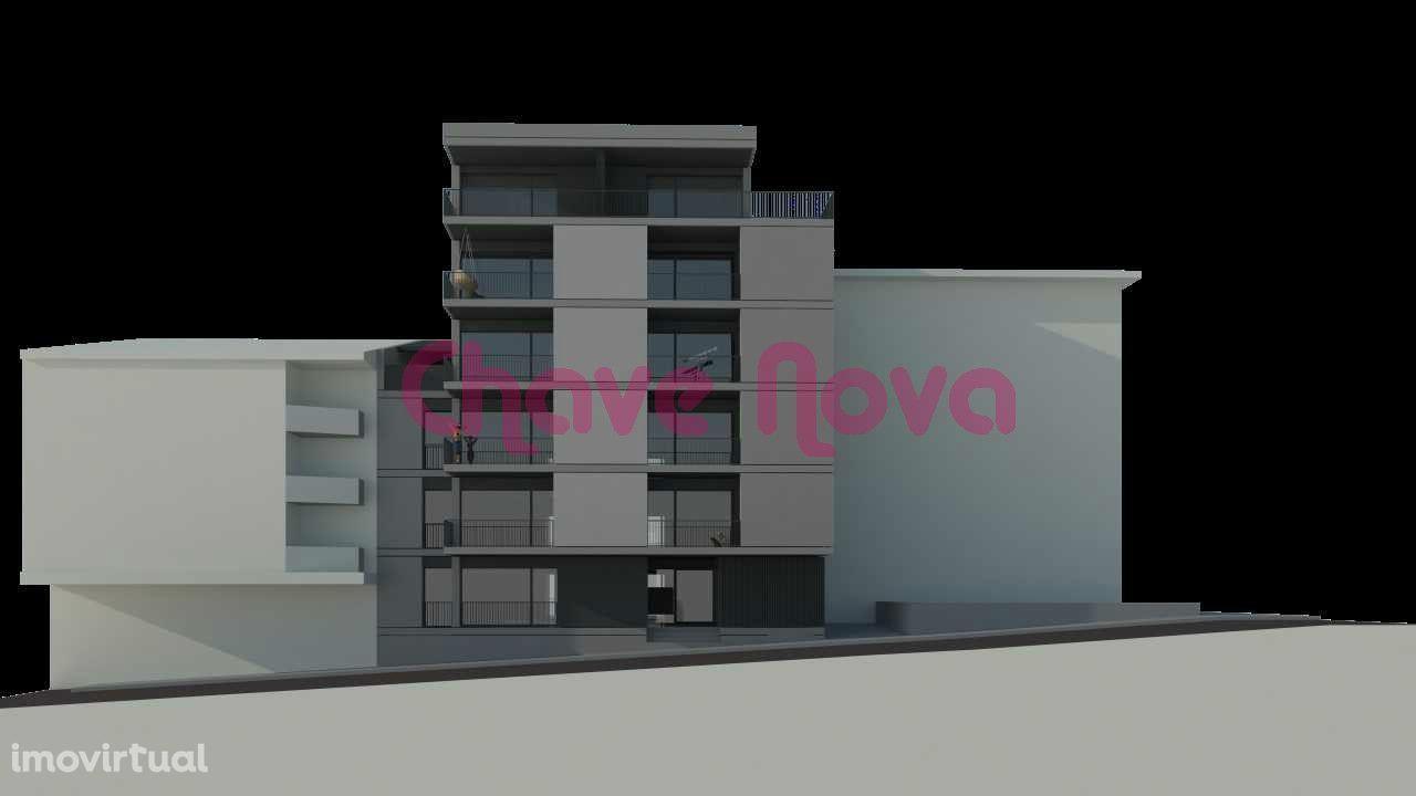 Apartamentos T0, T1 e T2 NOVOS no Centro da Maia