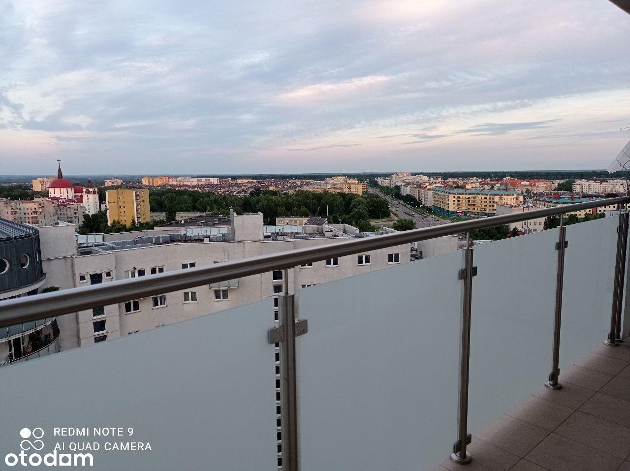 Z panoramą płd.Wa-wy,tuż przy Metrze Natolin,ciche