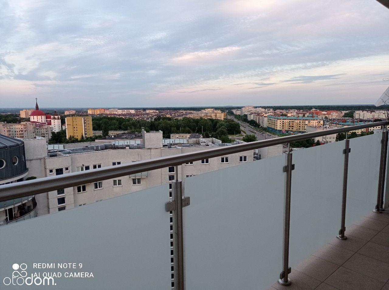 Z panoramą płd.Wa-wy,obok-Metro Natolin, b.ciche