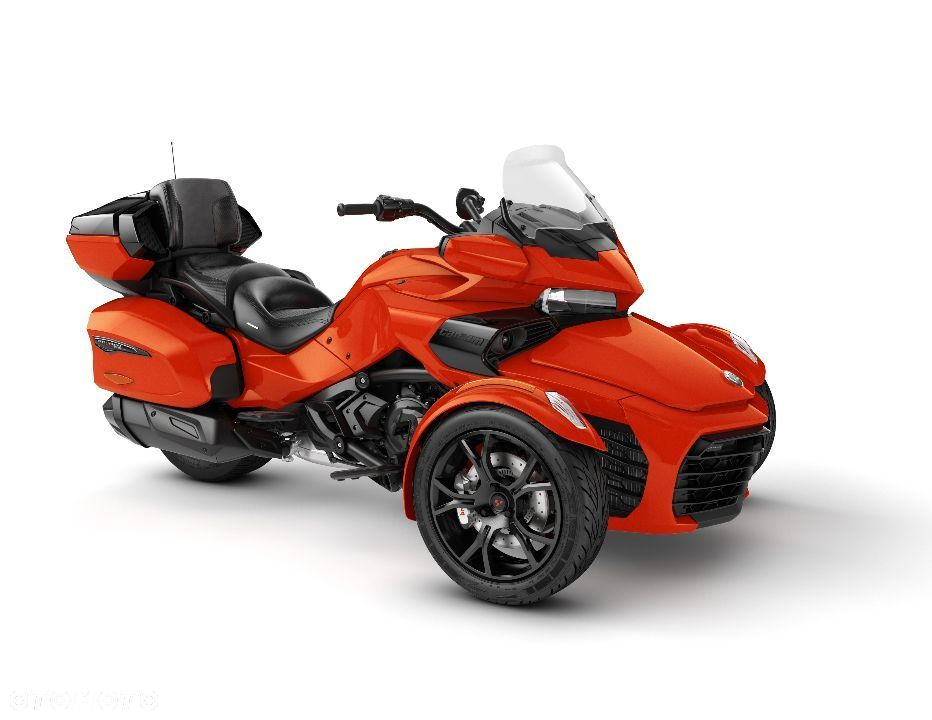 Can-Am Spyder F3 LTD 1330 ACE SE6 model 2020 Magma Red Metallic Kat.B - 1