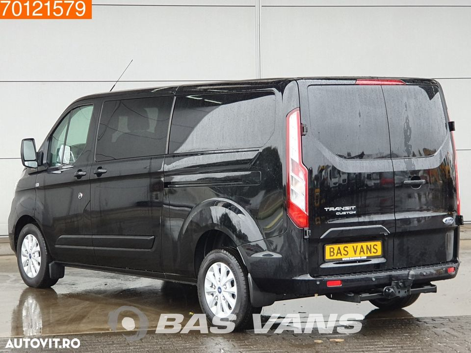 Ford Transit Custom 2.0 TDCI Start-stop Naci Cruise Airco Camera Automaat LIMITED L2H1 4m3 Airco Dubbel cabine Trekhaak Cruise control - 2