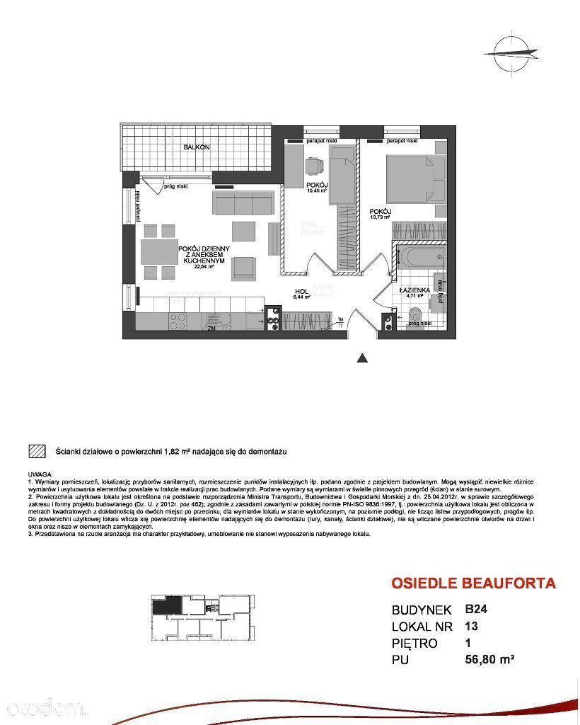 Osiedle Beauforta B24/1/13