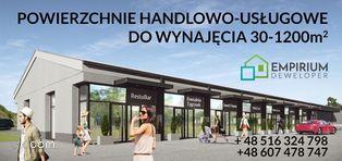 Nowy lokal użytkowy w nowo powstającym Retail Park