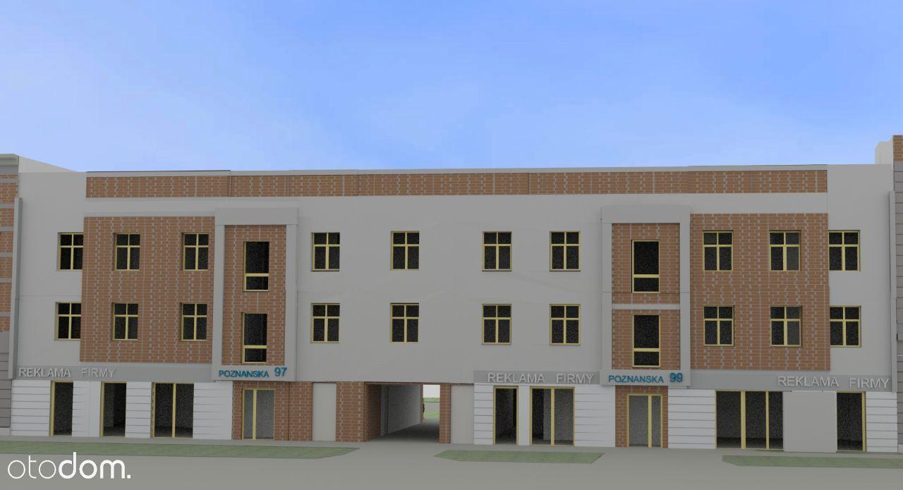 Poznańska 99. 2 pokojowe mieszkanie 40,33m2