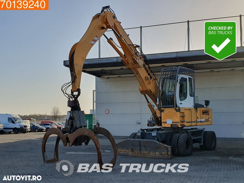 Liebherr A924C C-HD Litronic WITH GRAPPLE - 1