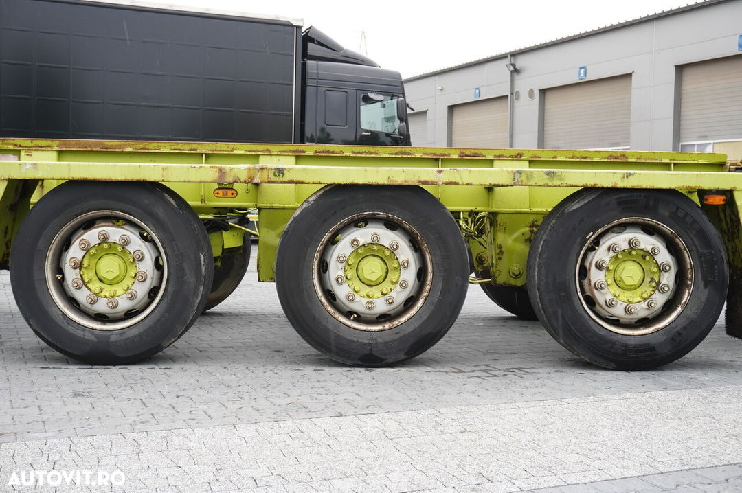 Krone Truckmate 3 axles , Roll-of tipper , 7m - 7