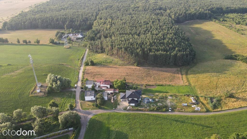 Działka budowlana pod lasem - Morasko