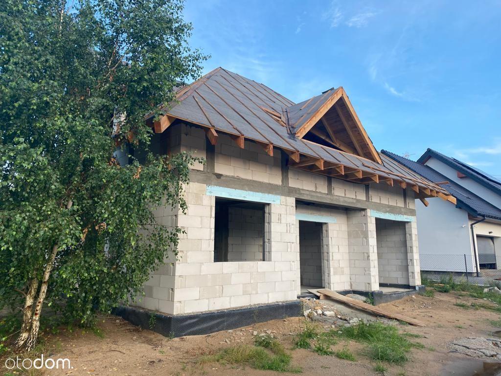 Dom w Głogowie w stanie surowym, działka 1002m