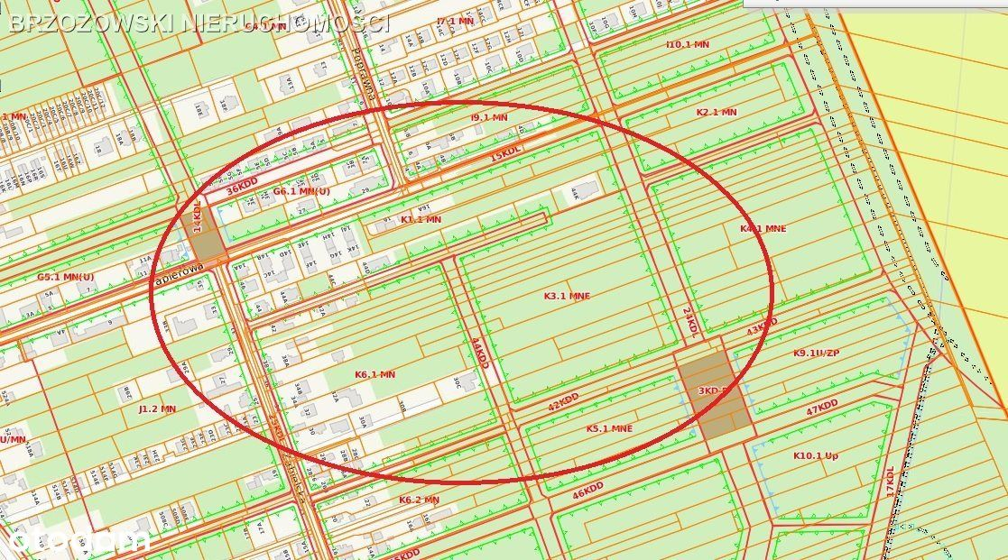 Wawer Las, działka 1,6 ha inwestycyjna, deweloper