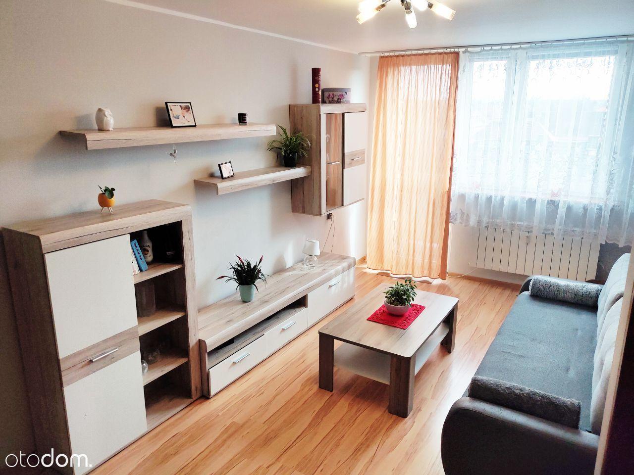 W pełni wyposażone mieszkanie 2 pokoje 40m2 balkon