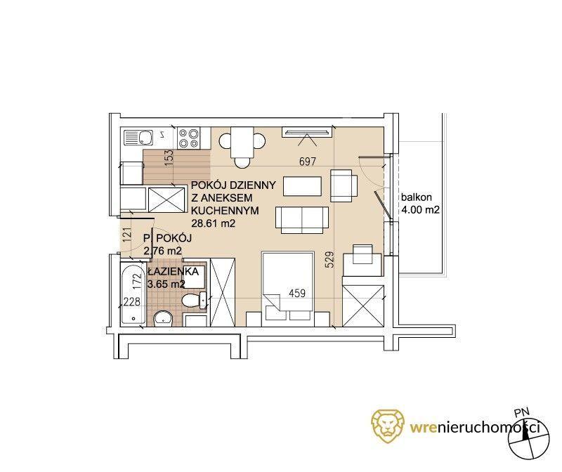 Ostatnie mieszkanie za 299 tys.!