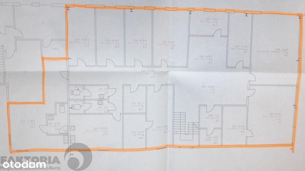 Blisko granicy Wynajem biura 439,4 m2 - 30 zł/ m2