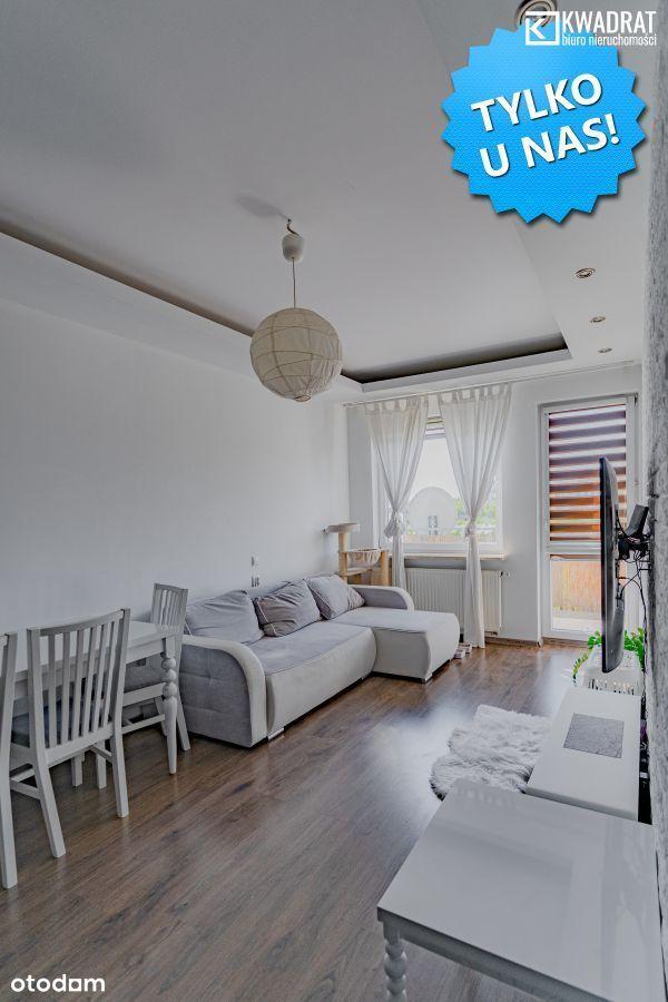 2 pokoje 49,5 m2 Parter na Ponikwodzie.