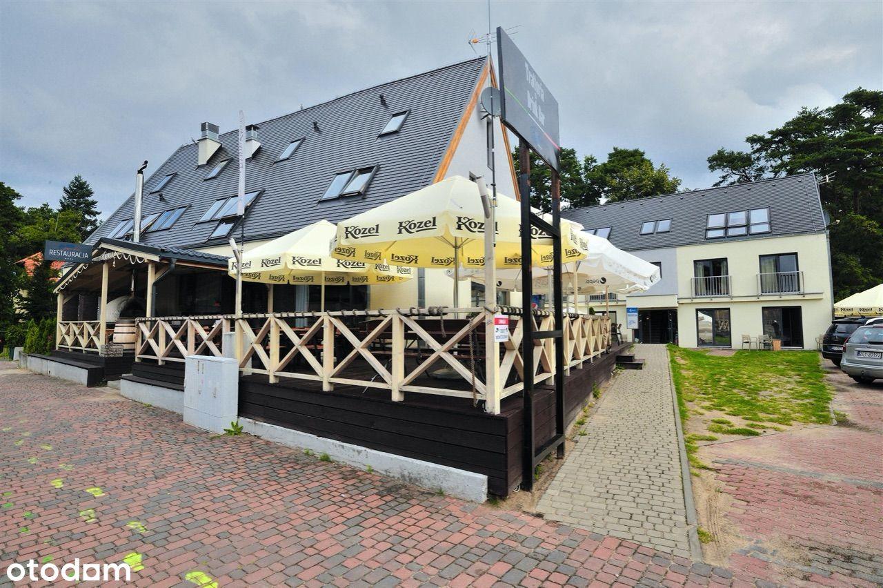 Pensjonat z restauracją 50m2 od plaży
