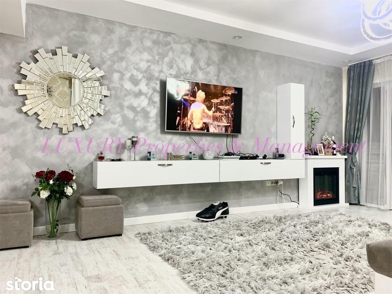 Apartament LUX 3 camere, 100 mp, vedere piscina - COSMOPOLIS, Pipera