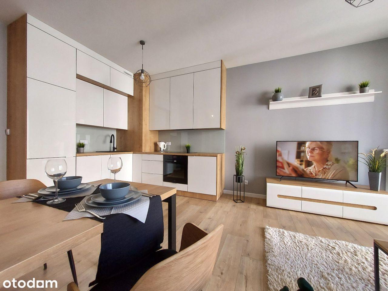 Nowe, 2 pokojowe, wysoki standard Aignera 45,5 m2