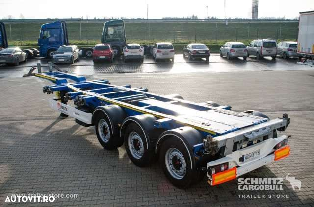 Wielton Semitrailer Container chassis - 4
