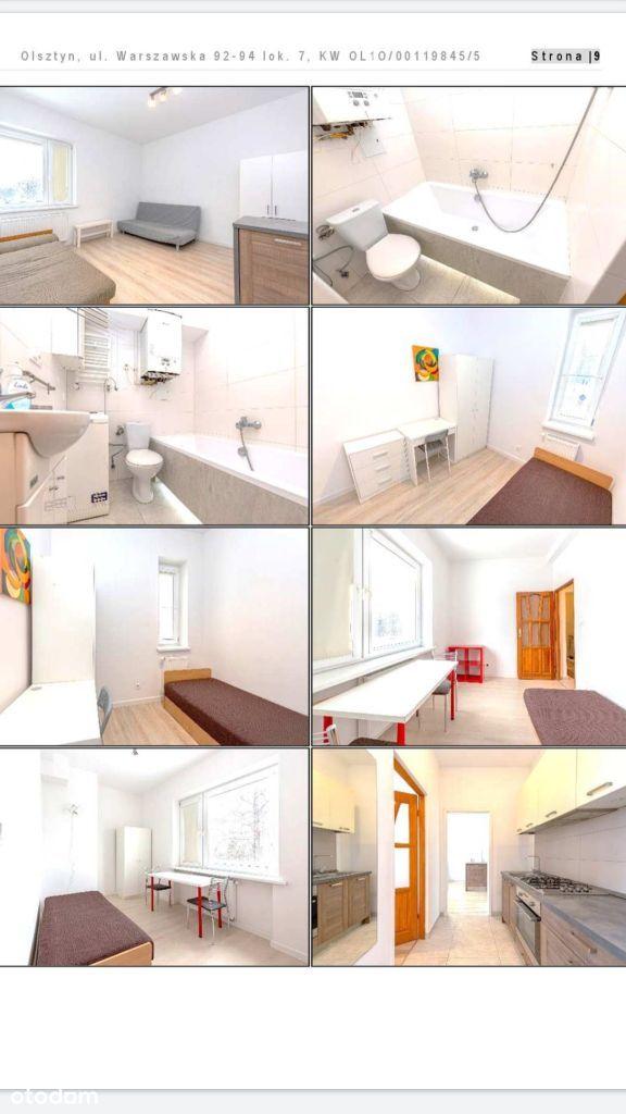 Pokój w samodzielnym mieszkaniu Olsztyn
