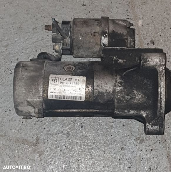 Vand Electromotor Citroen Jumpy 2.0 HDI 136CP Euro4 din 2008 cod:9648242180 - 1