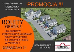 PROMOCJA z ogrodem 75m2 Dąbrówka Piastowska 18A/2