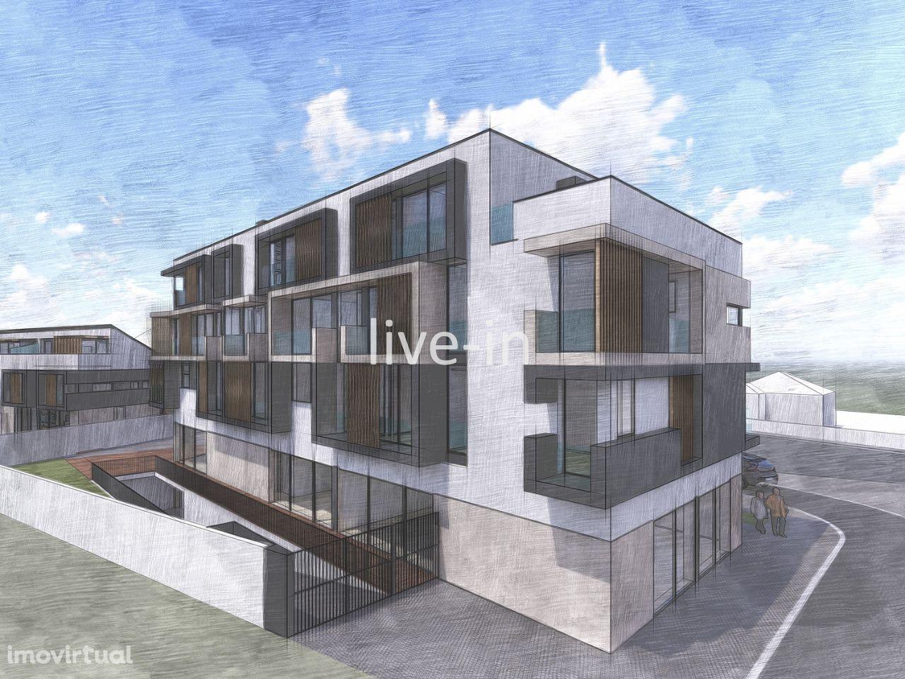 Apartamento T2 em construção próximo a Aveiro