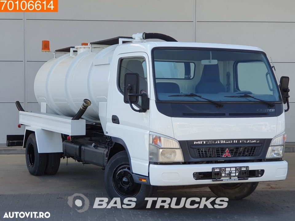 Mitsubishi Fuso Canter 4X2 Unused! Sewage Tank Full-steel - 3