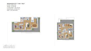 Penthouse 3 cam. Pipera-imobil boutique lux comision 0%.DEZVOLTATOR