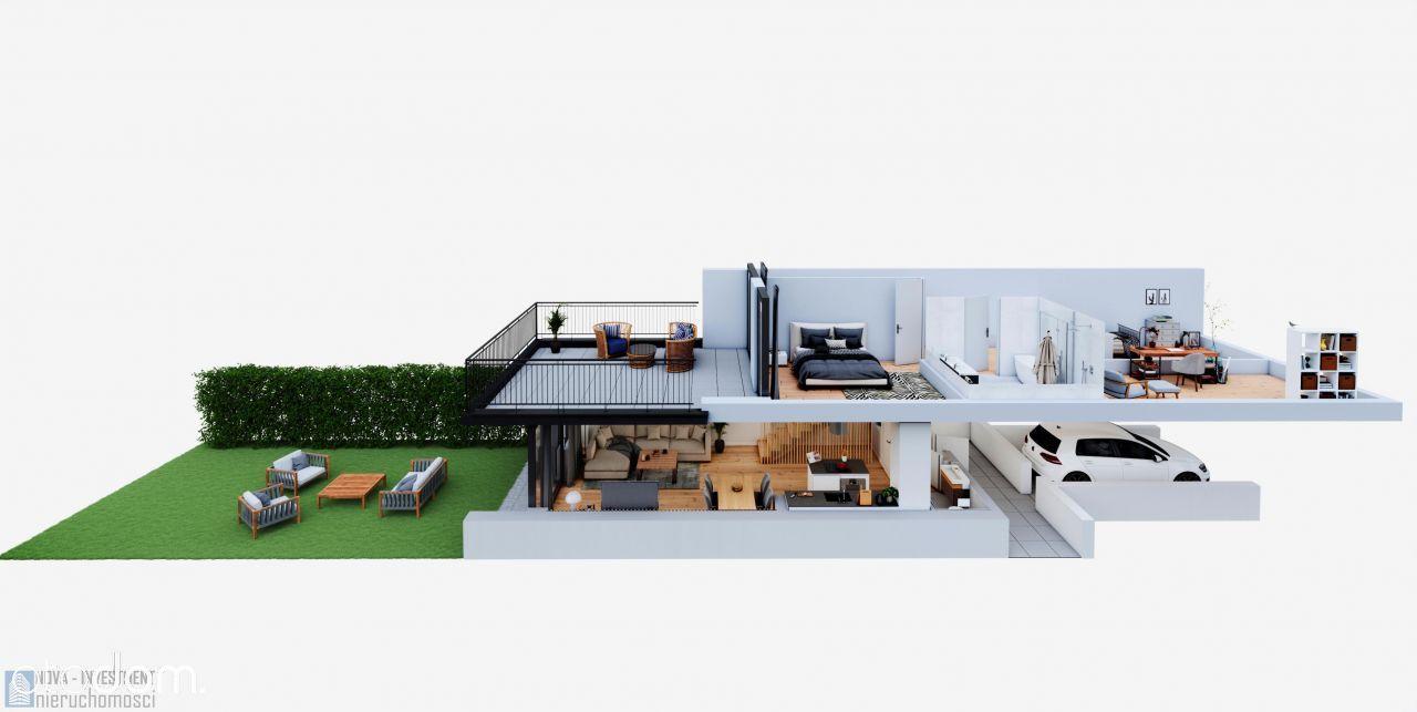 Apartament Z Ogrodem I Garażem