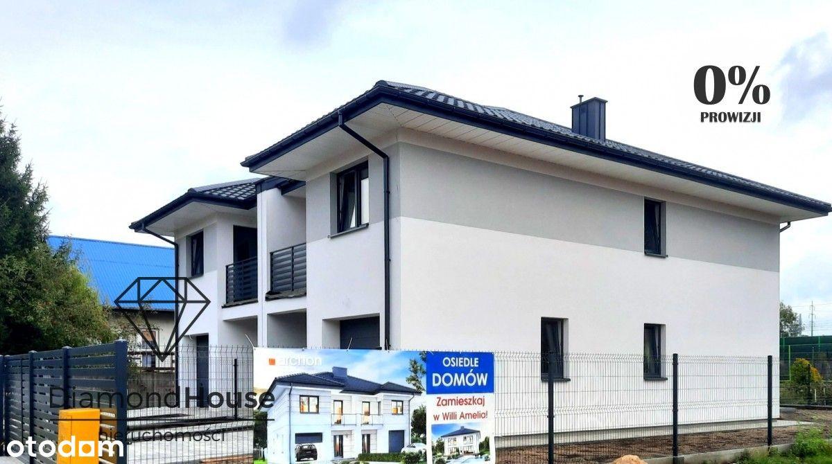 Nowy Dom/ bliźniak 126 mkw. z garażem w Żyrardowie