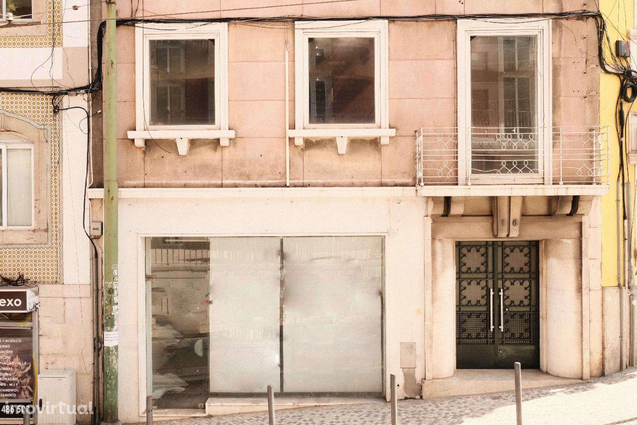Graça | Loja com 111m2 em Open Space (conheça também o apartamento do