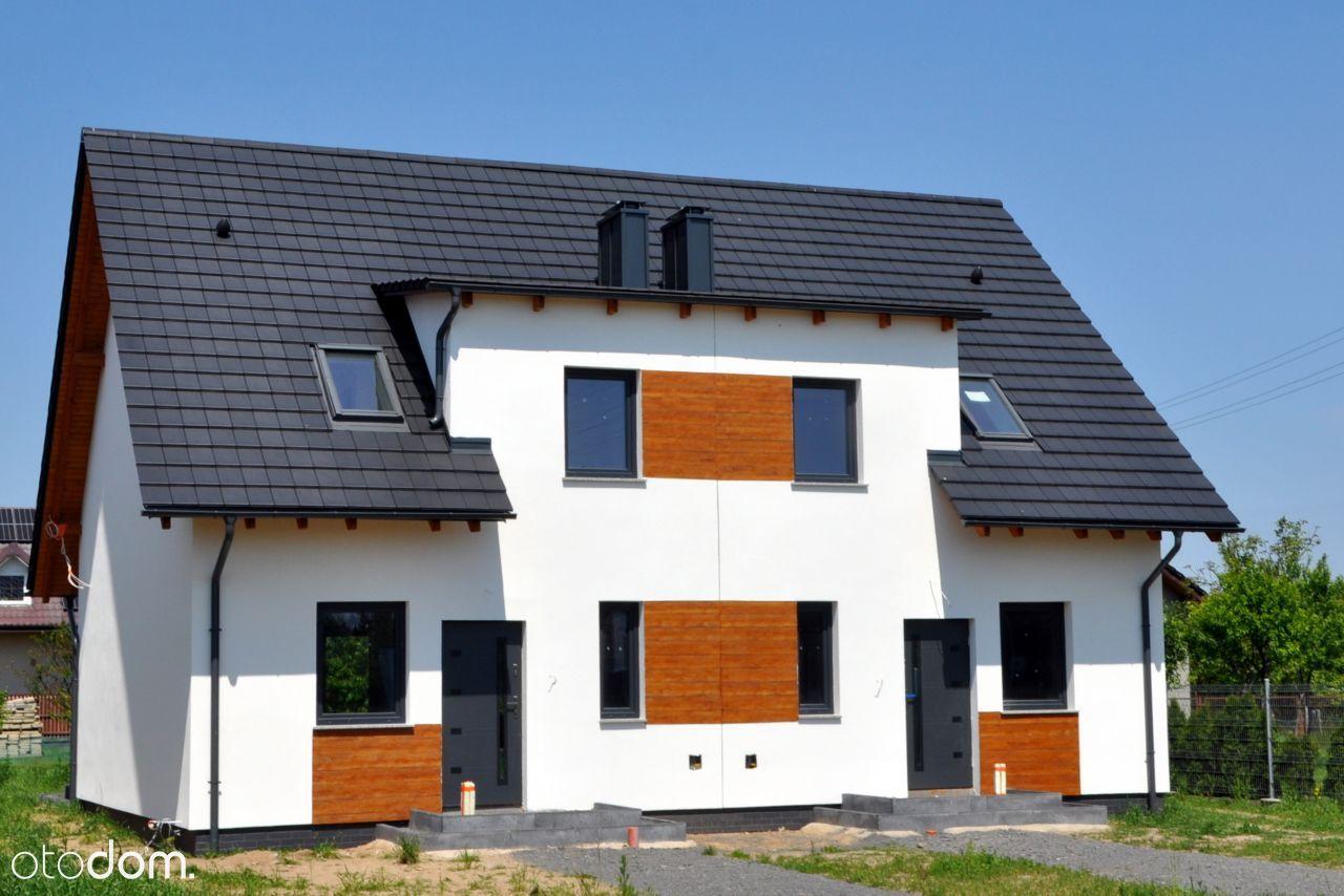 Nowy dom z ogrodem w zabudowie bliźniaczej 106m2