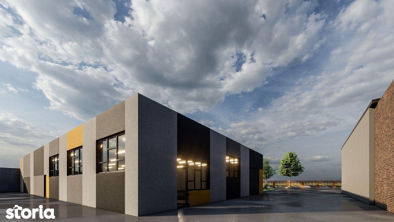 Spatiu comercial / showroom, 500mp, parcare, langa Gara Internationala