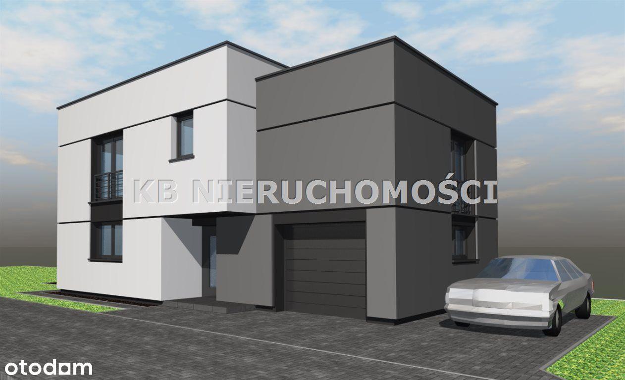 Nowoczesny dom z fotowoltaiką w cenie