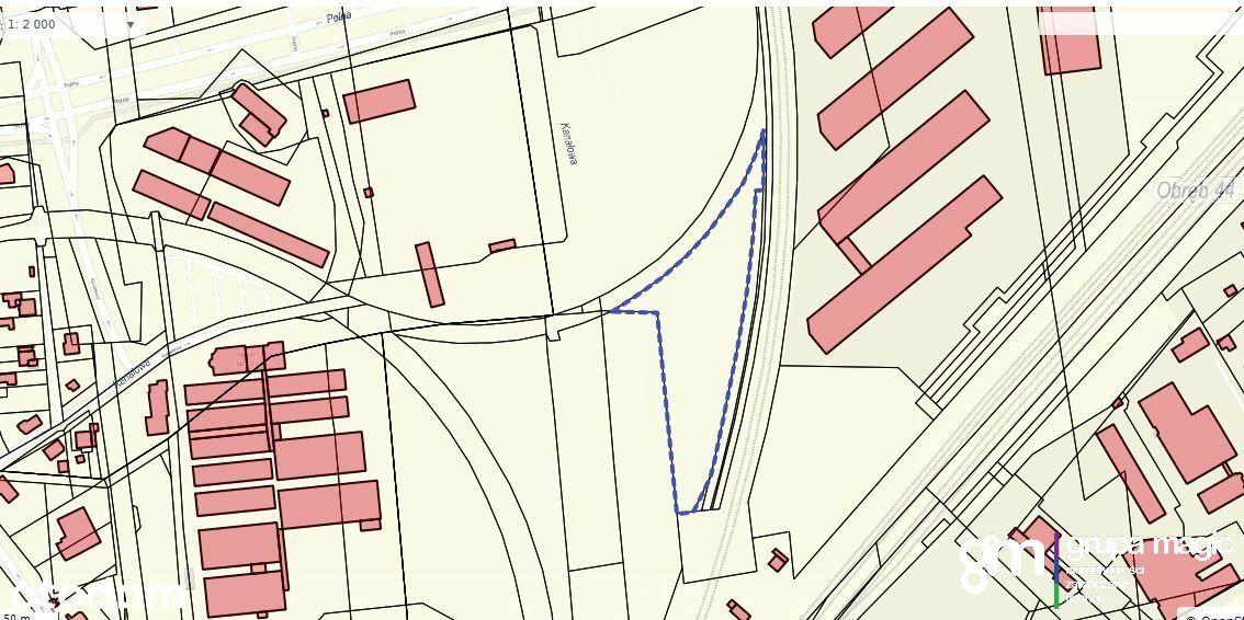 Działka, 8 256 m², Toruń