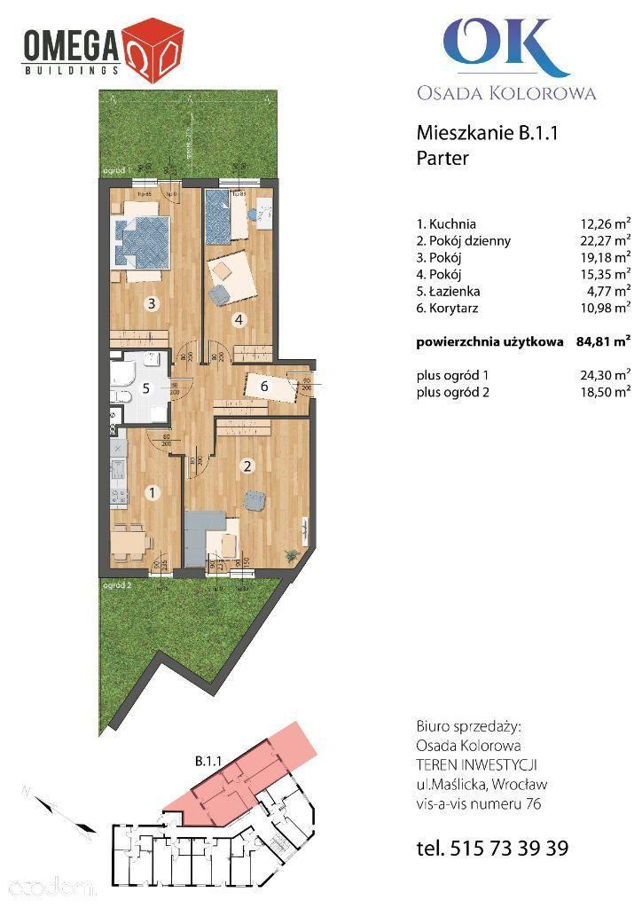 Nowe Mieszkanie | z ogródkiem | super lokalizacja!
