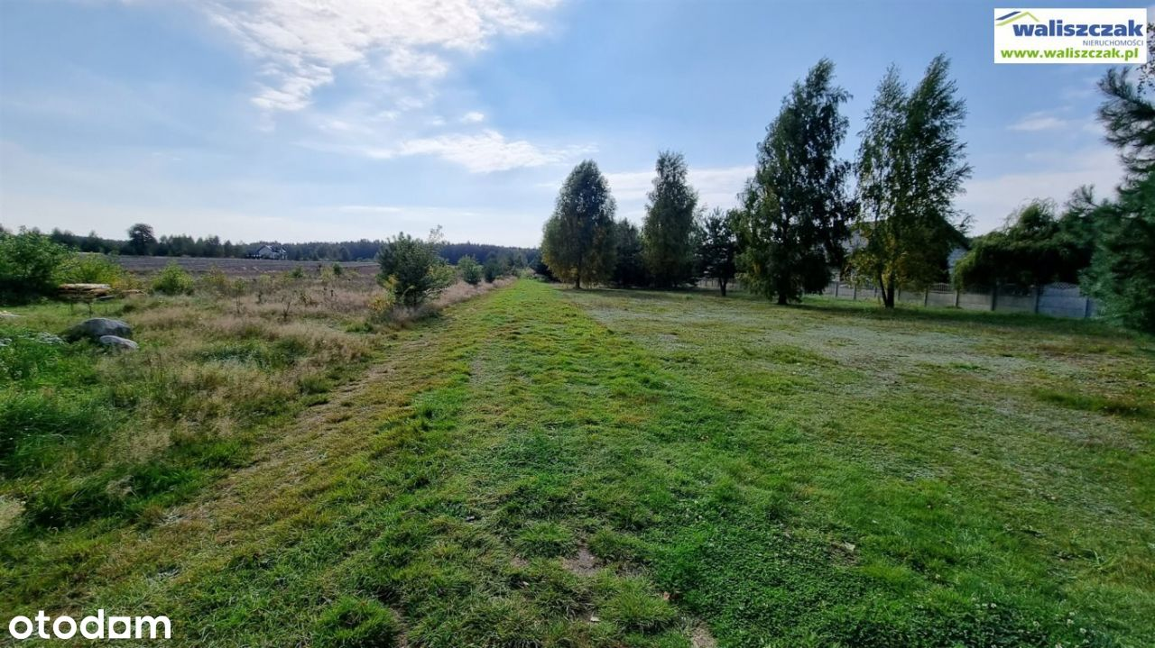Działki w Lubiaszowie Nowym nad Zalewem Sulejowski