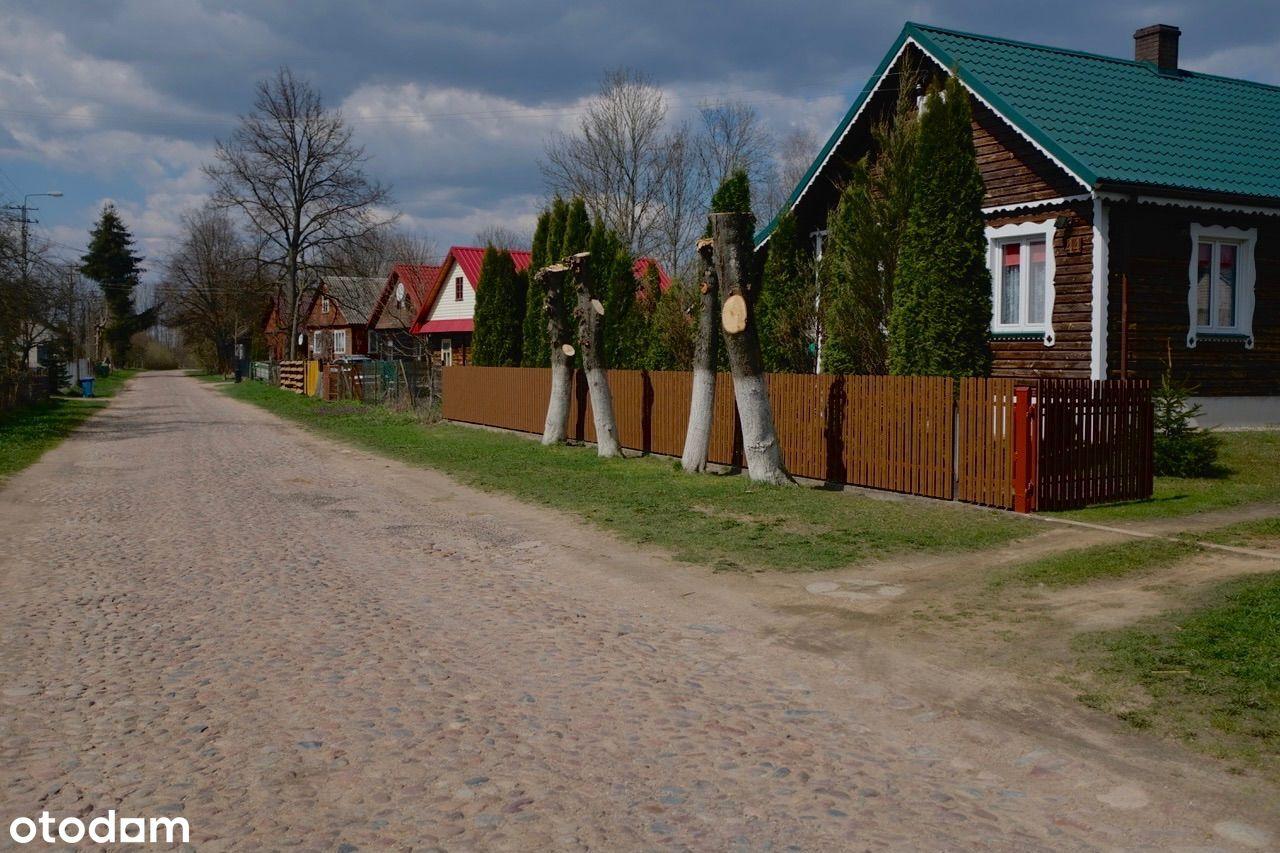 Działka budowlana, w pięknej spokojnej wsi
