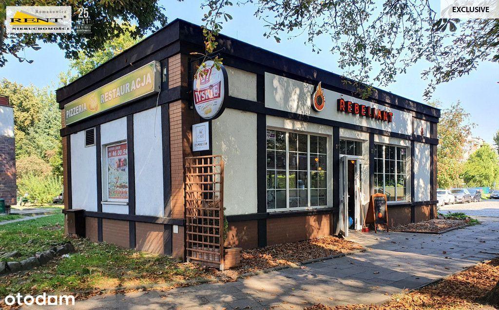 Restauracja Bar lokal z ogródkiem i najemcą okazja