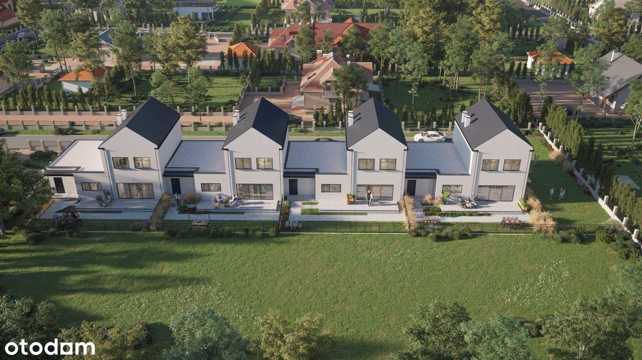 Nowy dom w zabudowie szeregowej