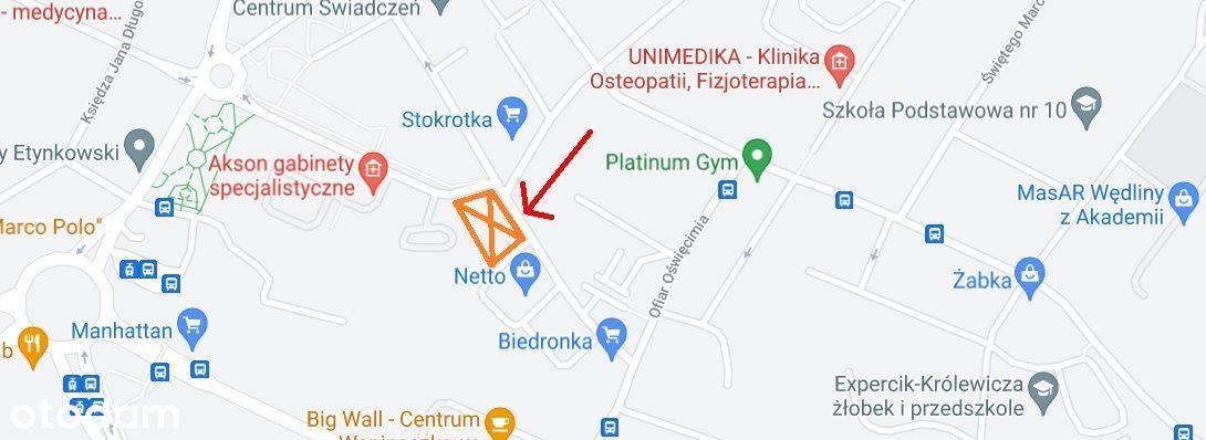 Ogrodzony parking w CENTRUM Szczecina
