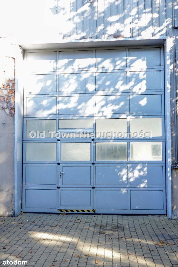 Obiekt magazynowo biurowy 700 m2 Bursaki