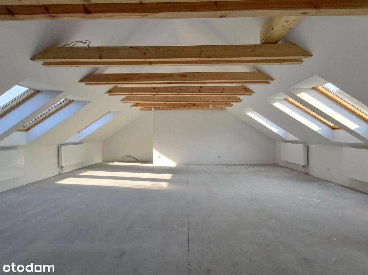 Piękne mieszkanie na poddaszu 96 m2, 2 piętro