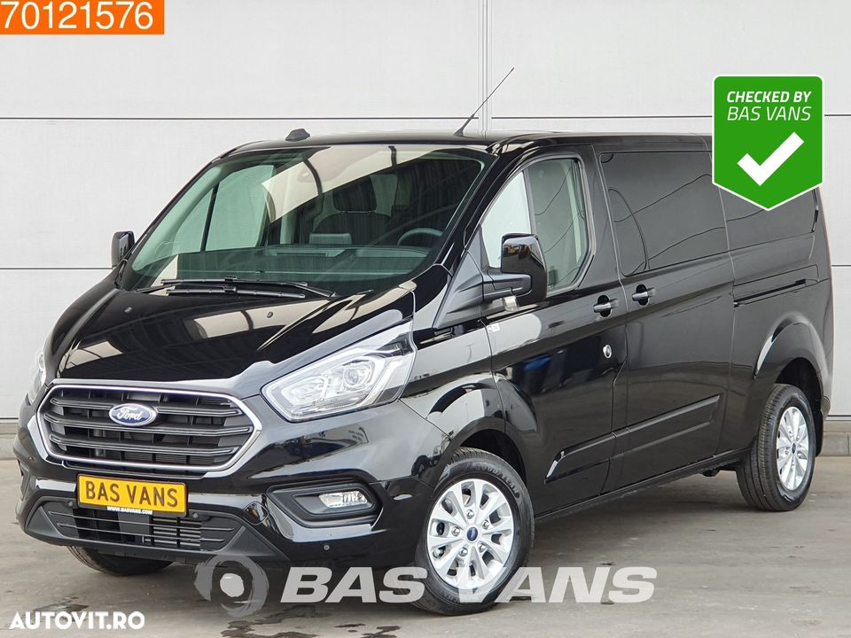 Ford Transit Custom 2.0 TDCI 130PK L2H1 DC Limited Automaat Navigatie Camera L2H1 4m3 Airco Dubbel cabine Trekhaak Cruise control - 1