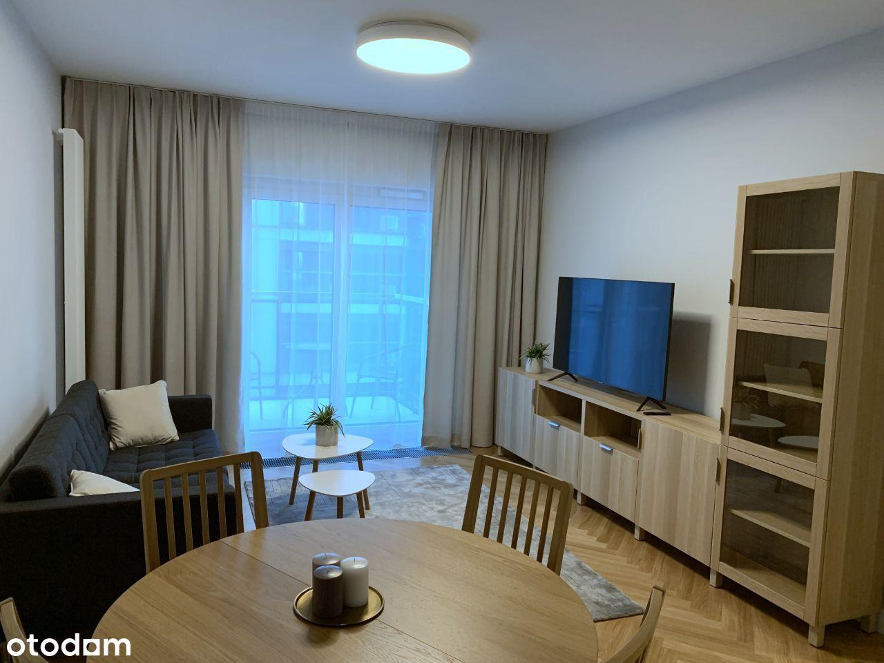 Nowe mieszkanie 3 pok. w osiedlu Mennica Residence