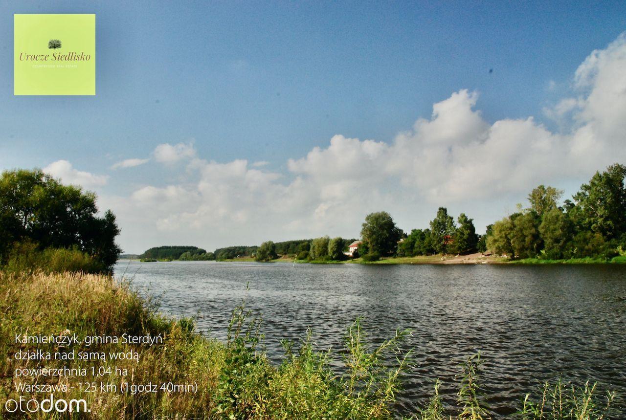 Kamieńczyk (Sterdyń), brzeg Bugu, tylko 3.86zł/mkw
