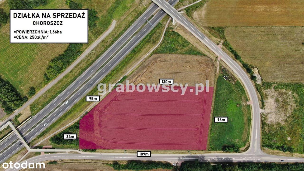 Działka, 16 638 m², Choroszcz