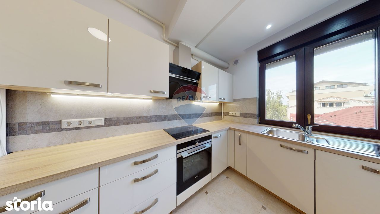 Apartament LUX, 3 camere Floreasca- Rahmaninov/ Prima inchiriere
