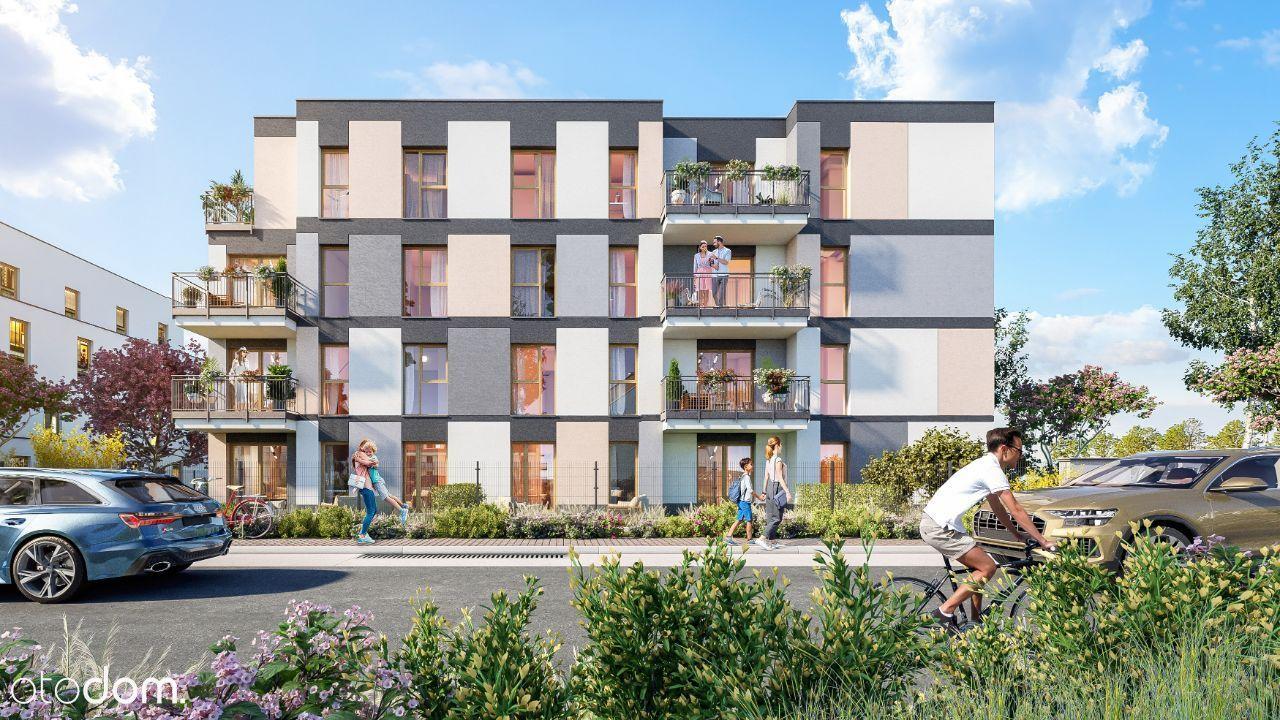Trzypokojowe mieszkanie Novisa Park M12