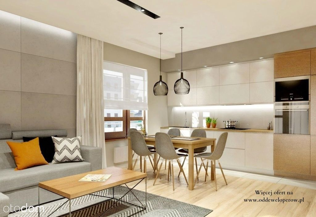 4 pokoje| Duży salon| Rodzinne