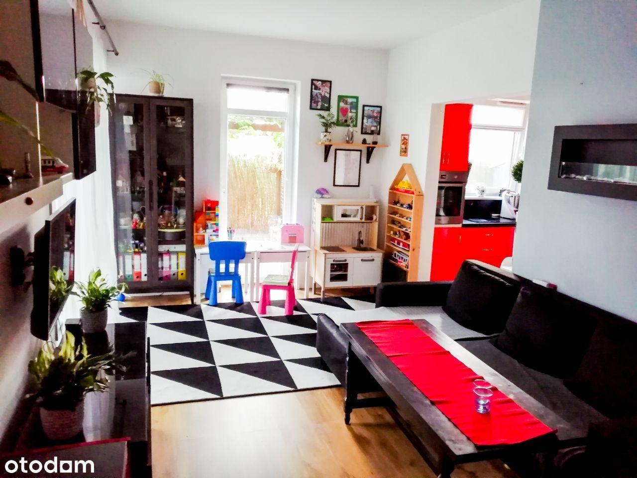 Mieszkanie 50 m2 z ogródkiem 81 m2, Bezpośrednio